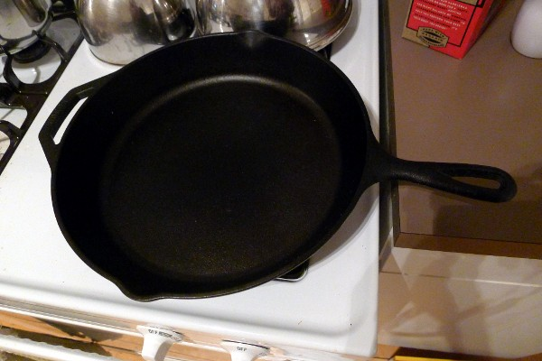 Lodge Logic iron skillet