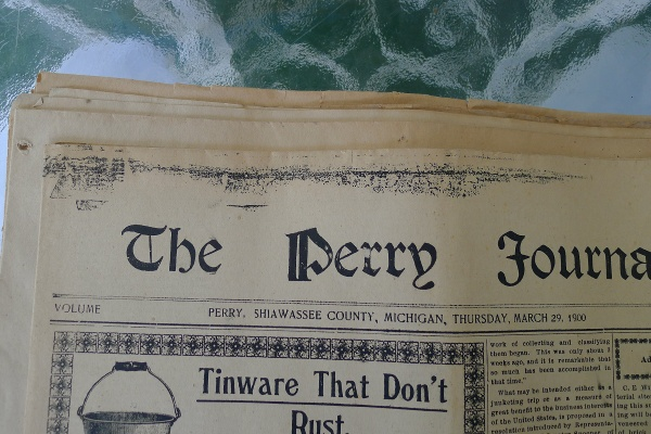Perry Journal from 1900