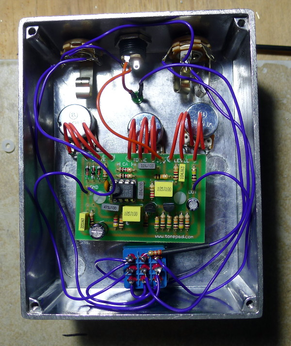 The electronic guts